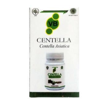Vitabrain Centella Asiatica Vitamin Otak Kecerdasan Anak & Dewasa New Pack - 60 kapsul
