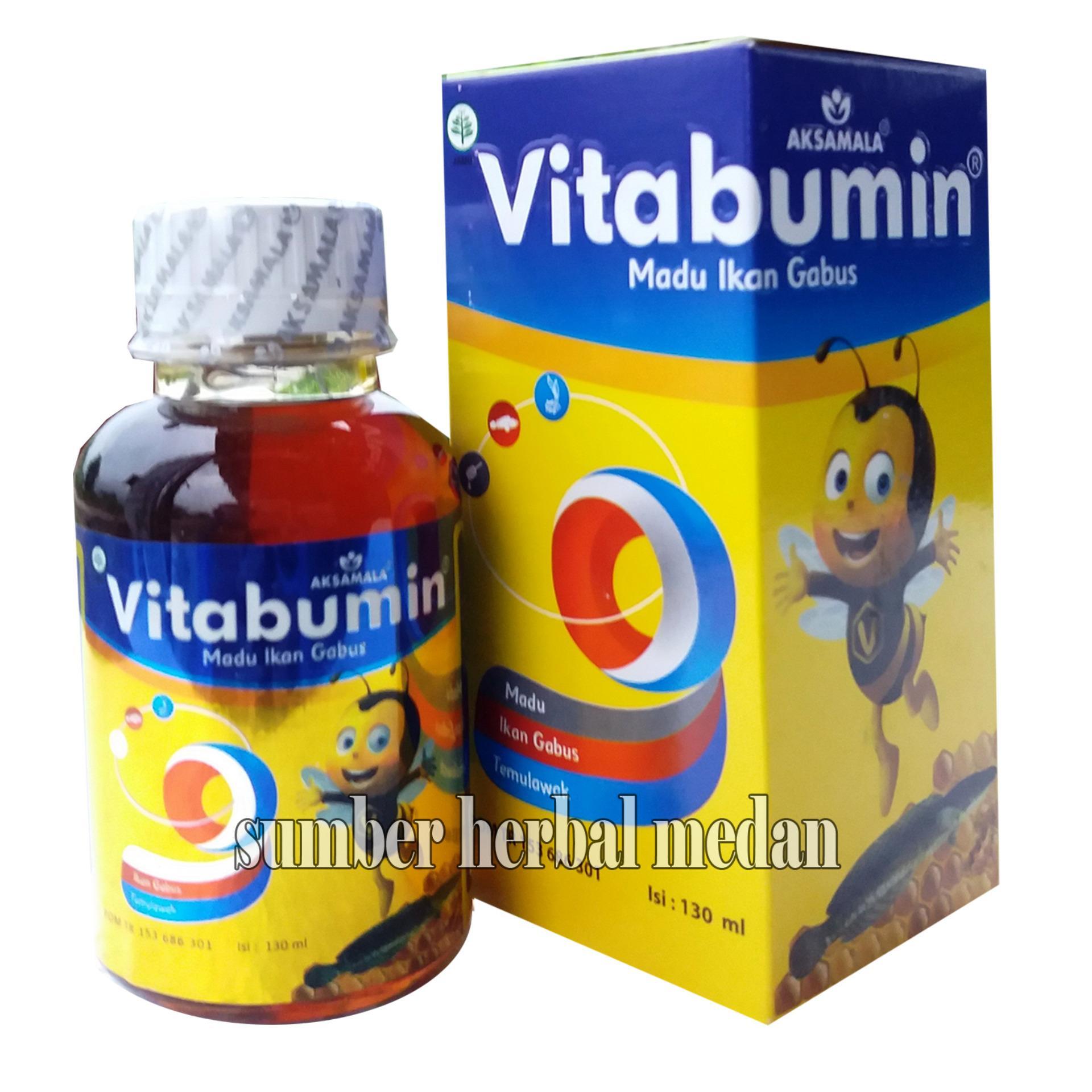 ... Vitabumin Madu Albumin Anak Original Kemasan Baru - 130ml ...