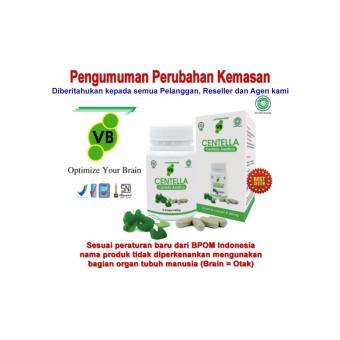 Vitamin Otak VitaBrain - VB Centella   No Brainking Omar SmartBrain OSB