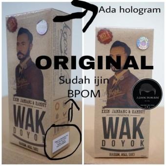 Wak Doyok BPOM Original - Wakdoyok BPOM - Penumbuh Bulu / Rambut