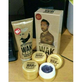 Harga Wak Doyok Sample Jar Cream Penumbuh Jambang, Rambut dan BuluOriginal 100% – 12.5ml Murah