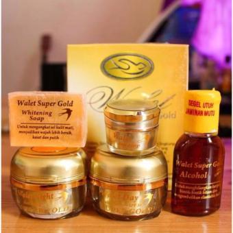 Walet Super Gold Premium Series, Komplit Dan Eksklusif / Cream Wallet Super Gold