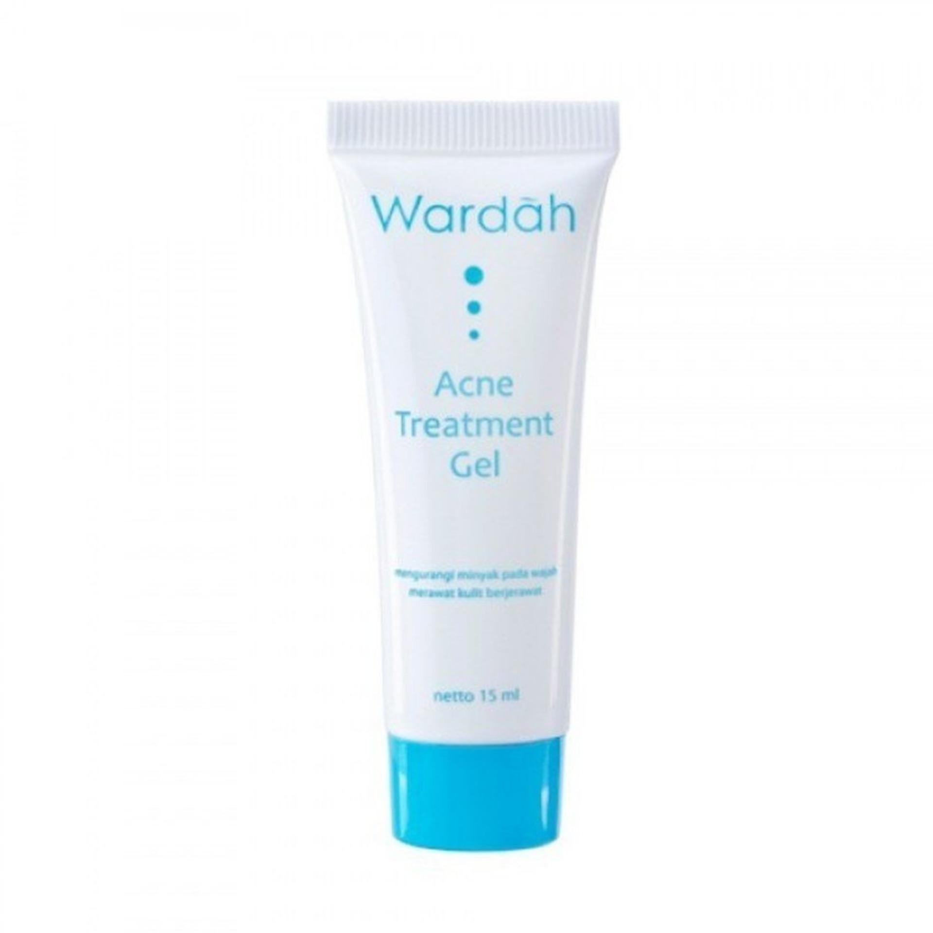 Wardah Acne Treatment Gel 15ml - Menghilangkan Jerawat Noda Anti Jerawat