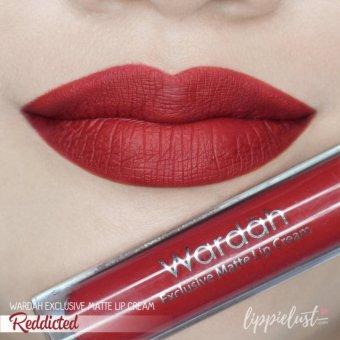 Wardah Exclusive Lip Cream Matte - 01 Red Dicted