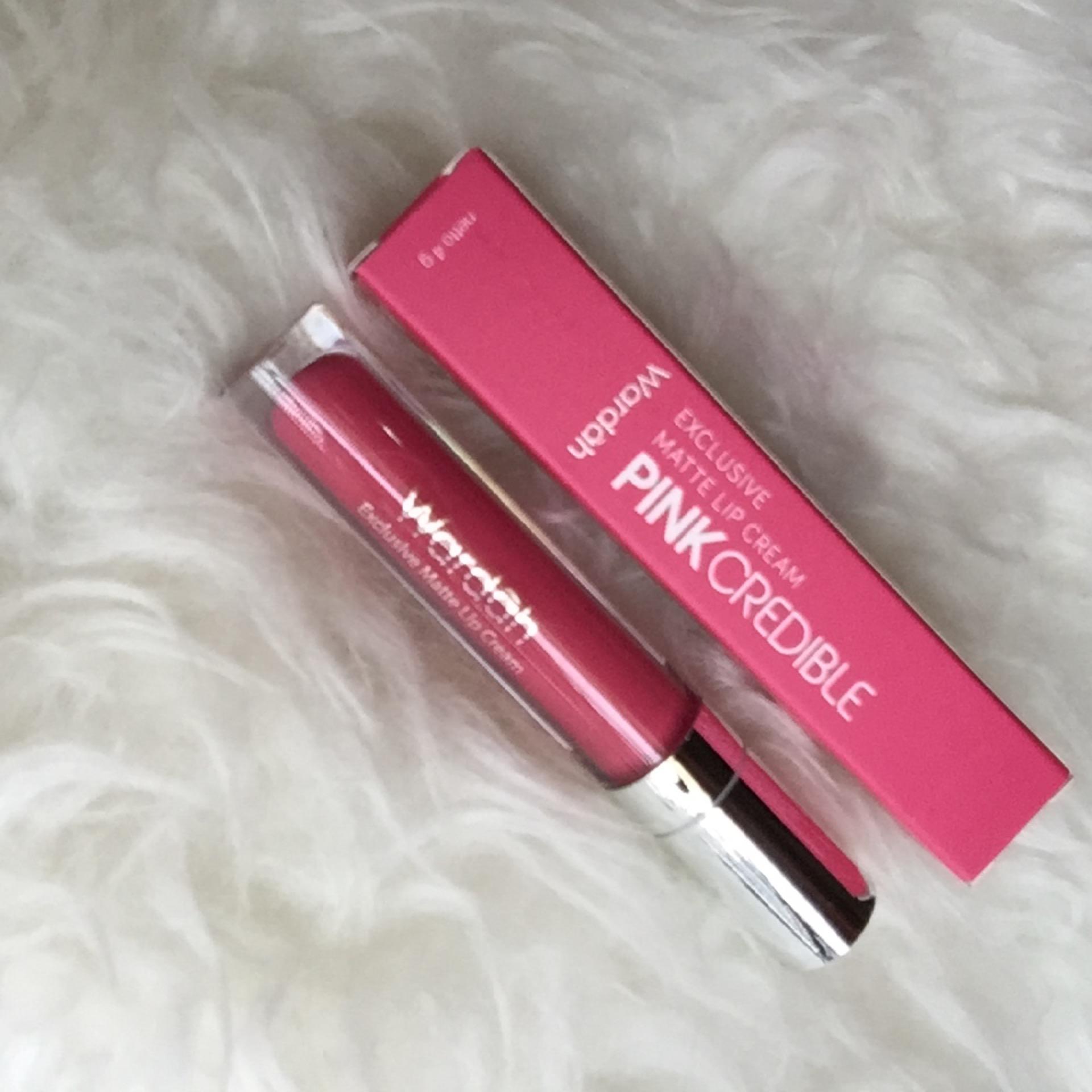Harga Terendah Wardah Exclusive Lip Matte Cream 08 Pink Incredible No 8