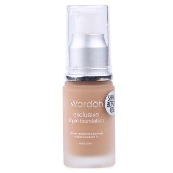 Wardah Exclusive Liquid Foundation 04 Natural