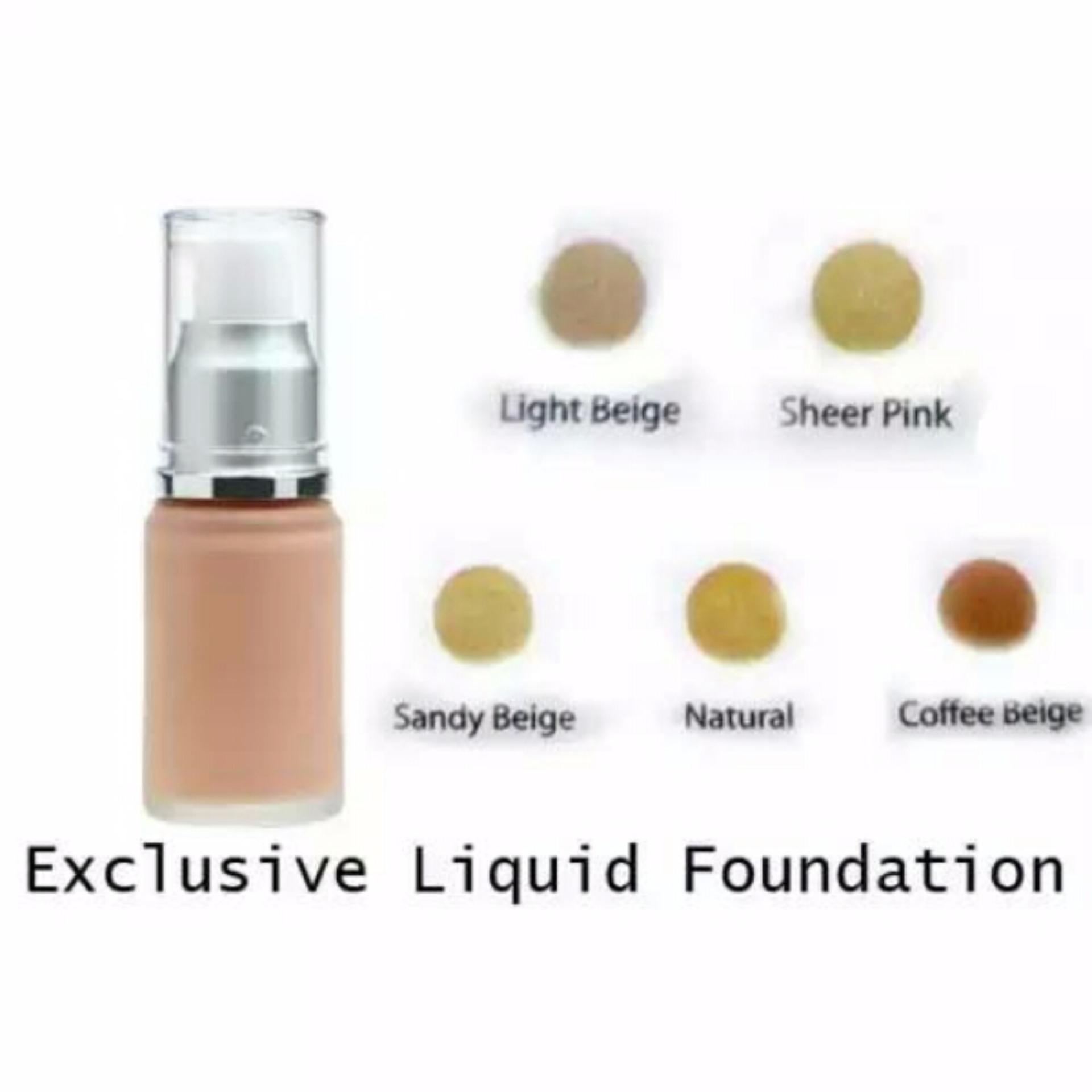 Wardah Exclusive Liquid Foundation Promo