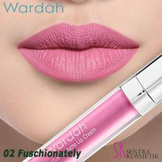 Wardah Exclusive Matte Lip Cream - 02 Fuschionately