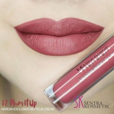 Wardah Exclusive Matte Lip Cream 12 - Plum It Up