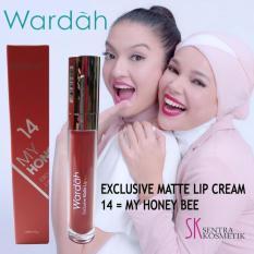 Wardah Exclusive Matte Lip Cream - 14 My Honey Bee