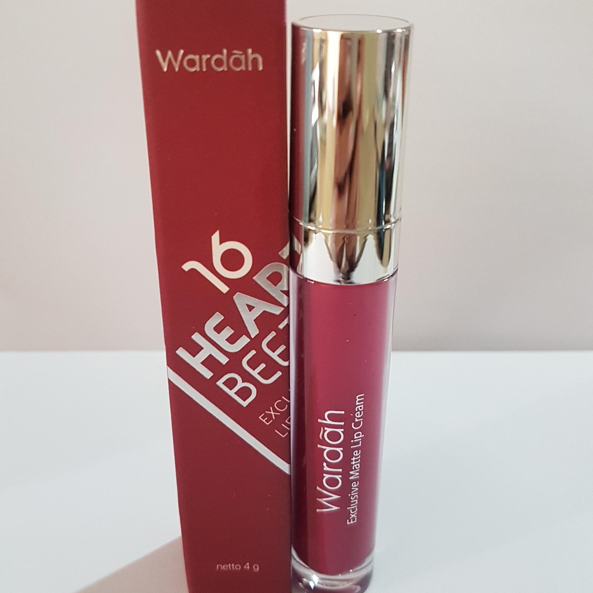 Daftar Harga Wardah Exclusive Matte Lip Cream 16 Heartbeet Belanja Flash Sale