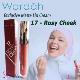 Wardah Exclusive Matte Lip Cream 17 - Rosy Cheek