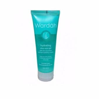 Harga Wardah Hydrating Aloe Vera Gel Hydramild Multifunction Gel 100