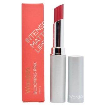Wardah Intense Matte Lipstick 06 Blooming Pink | Lazada