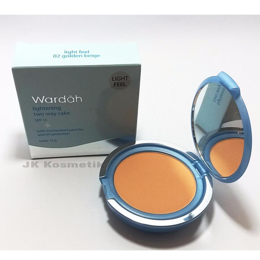 ... Wardah Lightening TWC Light Feel 02 BB Cream NATURAL 15ml
