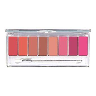 Wardah Lip Palette - Pinky Peach