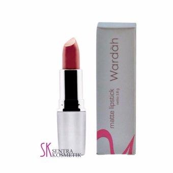 Berapa Harga Wardah Lipstick Matte Dark Violet 07 Terbaru