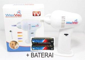 WaxVac Ear Cleaner - Penyedot Kotoran Telinga - Putih