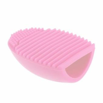 Wellness - Brush Egg Cleaning Brush Tool Beauty Makeup Tools - Pink