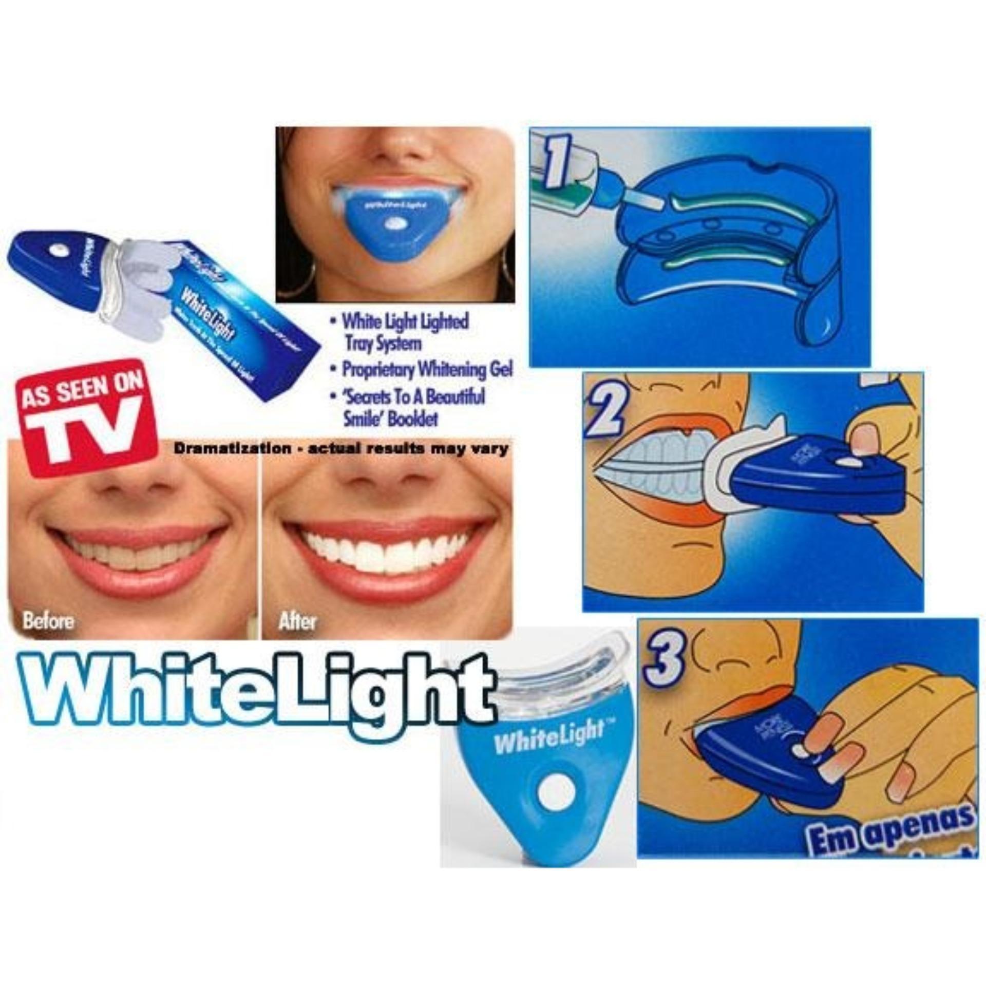 Pencari Harga White Light Penghilang Plak Gigi Alat Pemutih Gigi