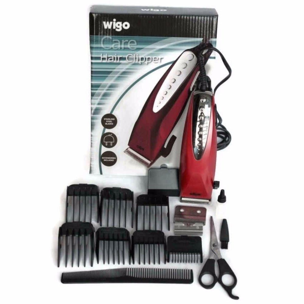 Price Checker Wigo Hair Clipper W-510 Alat Cukur Rambut Free pisau ... efea7d29be