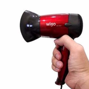 Harga Wigo Mini W-350 HairDryer 350W – Pengering Rambut – Merah Murah
