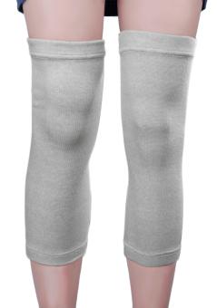 1 Pair Orang Dewasa Dukungan Lutut Lengan Warmer Rajutan Elastis Lutut Pelindung Brace Support Band Wrap