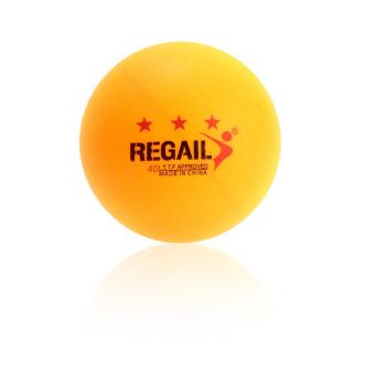 100 Buah 3-bintang 40 mm Tenis Meja pelatihan lanjutan bola ping pong Kuning