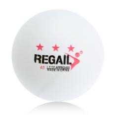 100 Buah 3-bintang 40mm Tenis Meja Pelatihan Lanjutan Bola Ping Pong Putih