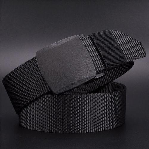 125 Cm Otomatis Buckle Nylon Belt Pria Army Tactical Belt Mens Militer Pinggang Sabuk Kanvas Survival