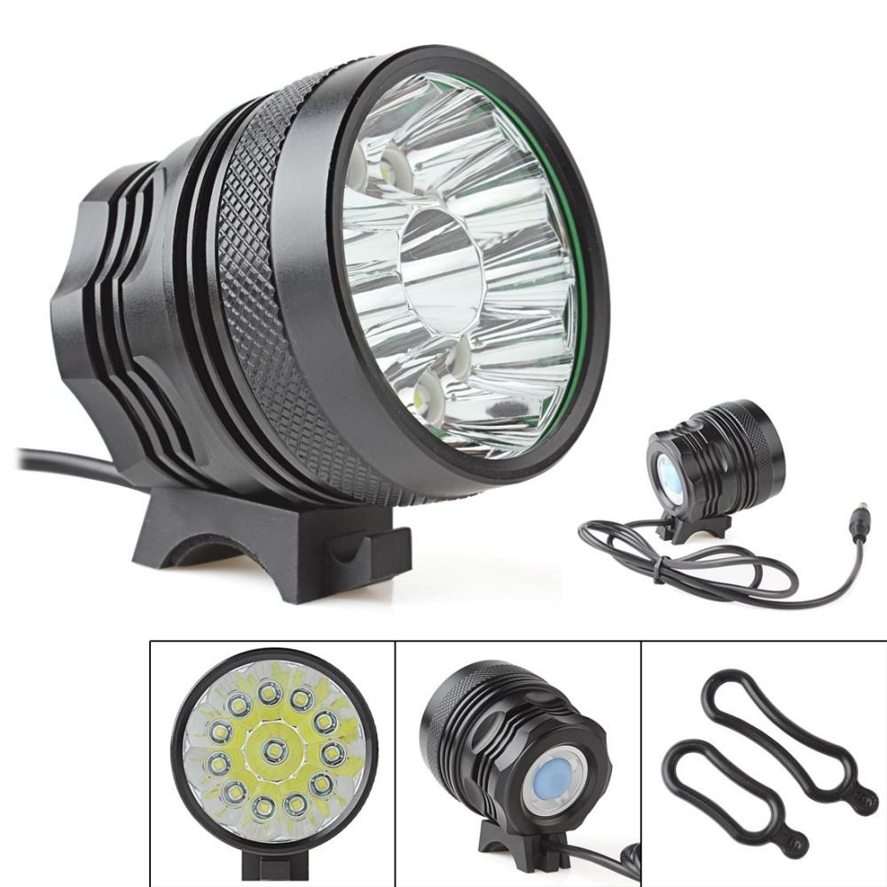 ... 18000LM Waterproof 12 x CREE XM-L T6 LED Lamp Camping FishingCycling Flashlight - intl ...