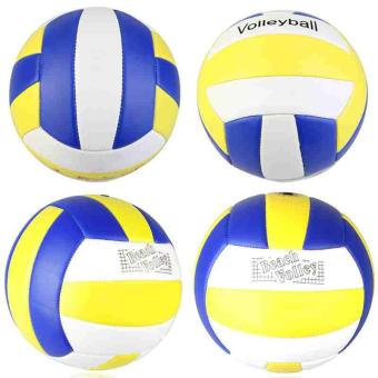 1*Soft Touch Volleyball Sport Indoor Outdoor Training Ball Size 5for Kids Adult - intl