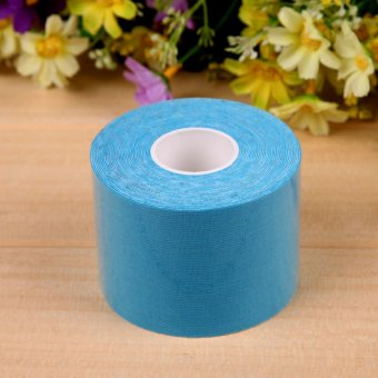 5m × 5cm Sports Muscle Care Tape Elastic Tape (Sky Blue)