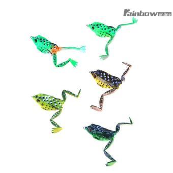 5pcs 55mm 15.5g Bionic Frog Soft Lure Lure Artificial Ray Fishing Bait -  intl 0b0e5862cf