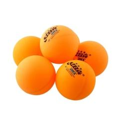 6Pcs 3 stars DHS 40MM Olympic Table Tennis Orange Ping Pong Balls Trainning - intl