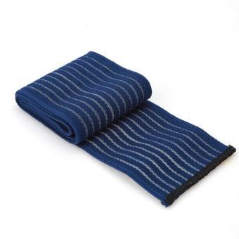 90 cm Perban Elastis Pita Olahraga Pelindung Lutut Siku Pergelangan Kaki Pelindung Band (biru Laut) LALANG - 3