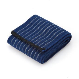 90 cm Perban Elastis Pita Olahraga Pelindung Lutut Siku Pergelangan Kaki Pelindung Band (biru Laut) LALANG - 2