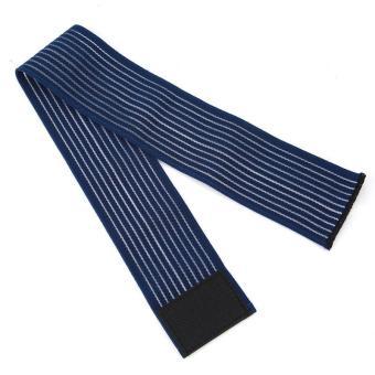 90 cm Perban Elastis Pita Olahraga Pelindung Lutut Siku Pergelangan Kaki Pelindung Band (biru Laut) LALANG - 4