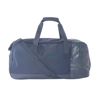 Adidas 3-Stripes Team Bag Medium - Collegiate Navy-Utility Green