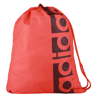 Adidas Gym Bag Linear Performance Bag - Energy S17-Vista Grey S15-Mystery Red S17