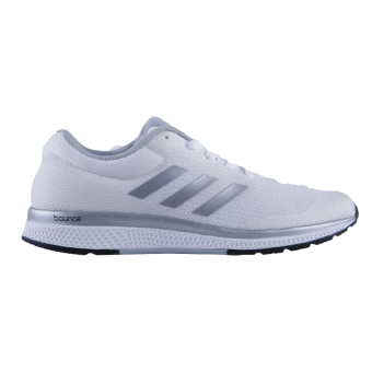 Adidas Mana Bounce 2 Aramis Women's Running Shoes - White - Silver Metallic - Core Black