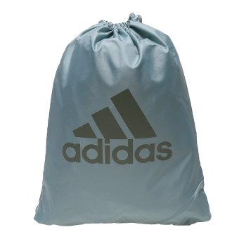 Adidas Performance Logo Gym Bag - Vapor Steel