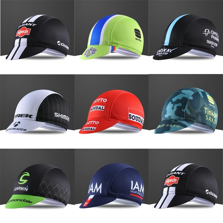 Adult Cycling Cap Breathable Anti Sweat Quick Dry Elastic BicycleRiding Hats Random Color Specification:Random color Size:Free size- intl