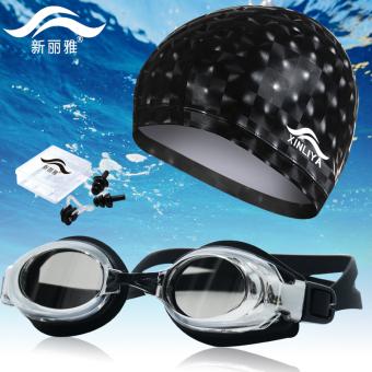 HEMAT Air panas dengan panjang mode rambut tinggi elastis tidak topi renang topi renang topi renang topi renang TERBAIK