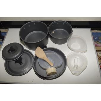 Alat Masak di Gunung Camping Cooking Set DS 300 Terlaris - 3