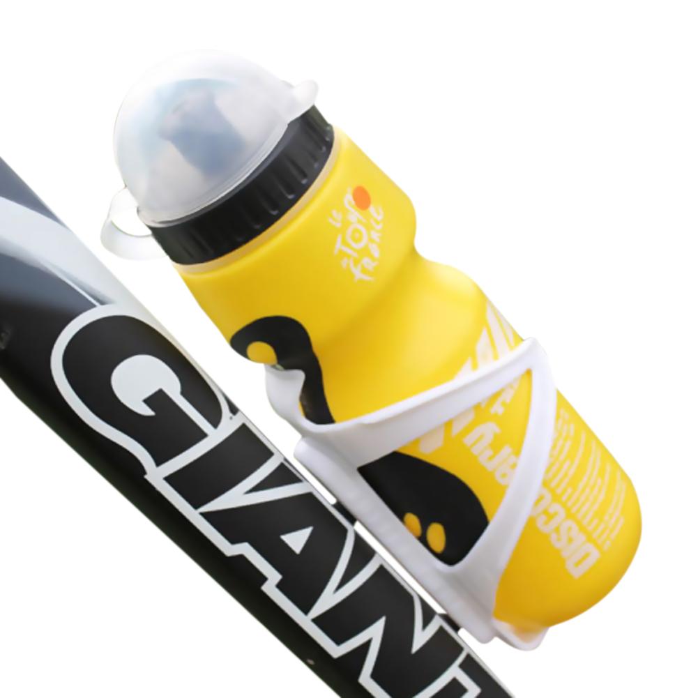 Amart botol air minum plastik portabel untuk olahraga Bersepeda outdoor (kuning) - intl .