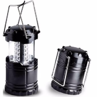 Anekaimportdotcom Lampu Emergency 6LED / Lampu Darurat + Senter -Hitam - 3