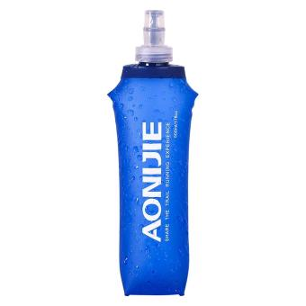 AONIJIE Sports Foldable BPA PVC Free Soft Running Water Kettle Soft Hiking Flask Hydration Bottle 500ml - intl