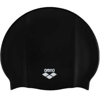 JUAL Arena ARN4473-BLK Comfortable Swimming Cap General SiliconeWaterproof Large Size Long Hair Large Head Ear Protective HotSpring Training Swimming CapHat Suitable for Adult Men And WomenBlack – intl MURAH