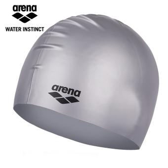 JUAL Arena Nyaman Pria Dan Wanita Rambut Panjang Besar Pelindung Telinga Topi Renang Silikon Topi Renang MURAH
